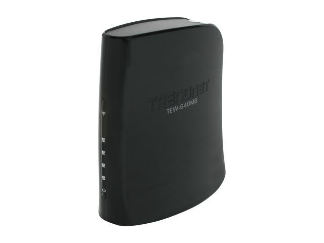 TRENDnet TEW-640MB N300 Wireless 4-Port Media Bridge