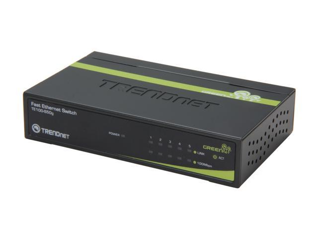 TRENDnet Te100-s50g 5-Port GREENnet Switch