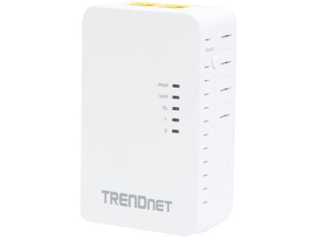 TRENDnet TPL-410AP Powerline 500 AV Wireless Access Point 500 Mbps Powerline and 300 Mbps Wireless N