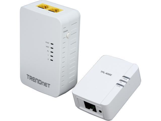 TRENDnet TPL-410APK AV500 Powerline Kit with WiFi N Extender