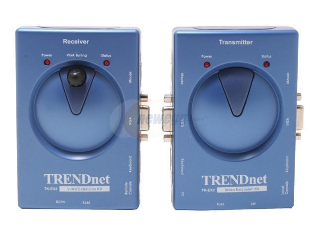 TRENDnet TK-EX2 Cat5 KVM Extension Kit