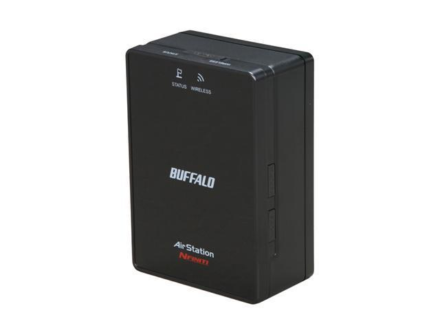 BUFFALO AirStation N300 2-Port Dual Band Wireless Ethernet Bridge and Gaming Adapter - WLAE-AG300N