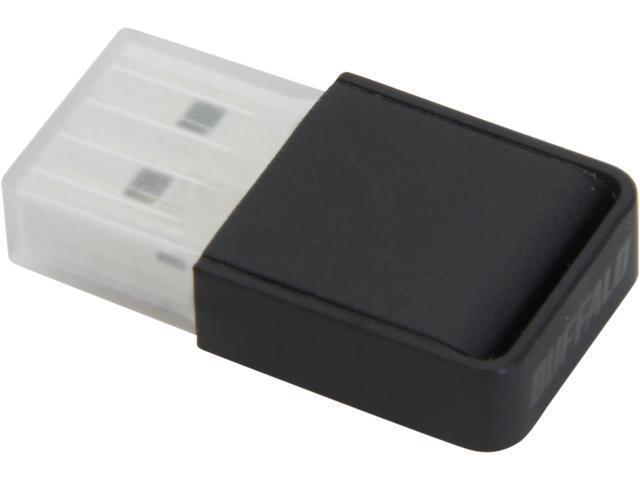 BUFFALO WI-U2-433DM USB 2.0 Type A AirStation AC433 Dual Band Wireless Mini Adapter