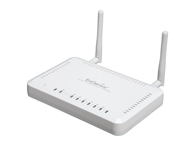 EnGenius ESR9850 802.11b/g/n High Performance Wireless N Gigabit Router up to 300Mbps