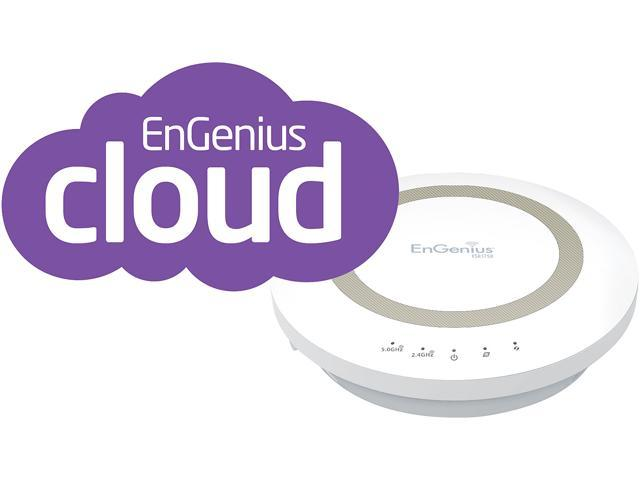 EnGenius ESR1750 Dual Band Wireless AC1750 Xtra Range Router with Gigabit, USB and EnShare