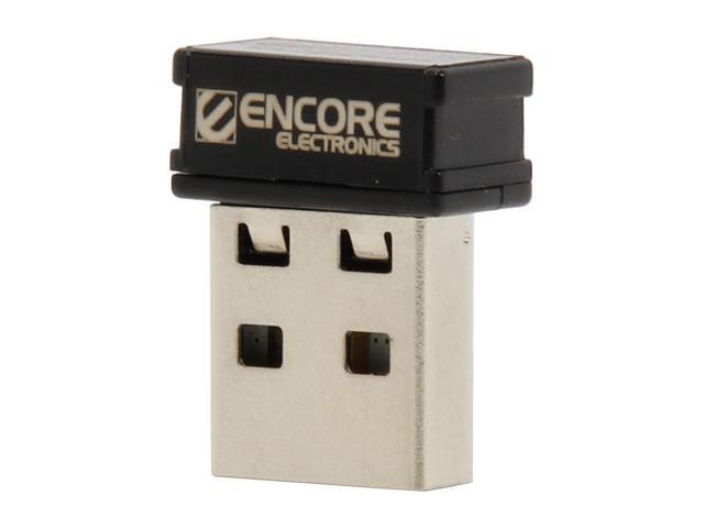 ENCORE ENUWI-1XN4M USB 2.0 Wireless N150 Mini Adapter