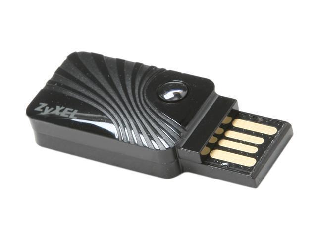 ZyXEL NWD2205 USB 2.0 Wireless Adapter - Black