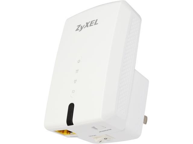 ZyXEL WRE6505 Wireless 11AC Universal Wi-Fi AC750 Range Extender and AP