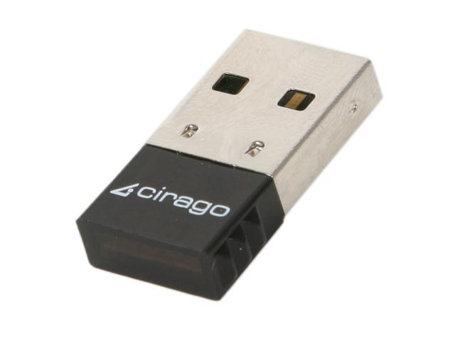 cirago BTA6310 USB 2.0 Micro Bluetooth 3.0 EDR Adapter