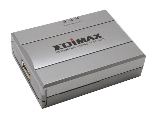 EDIMAX PS-1206U 1 Port Fast Ethernet SOHO Print Server