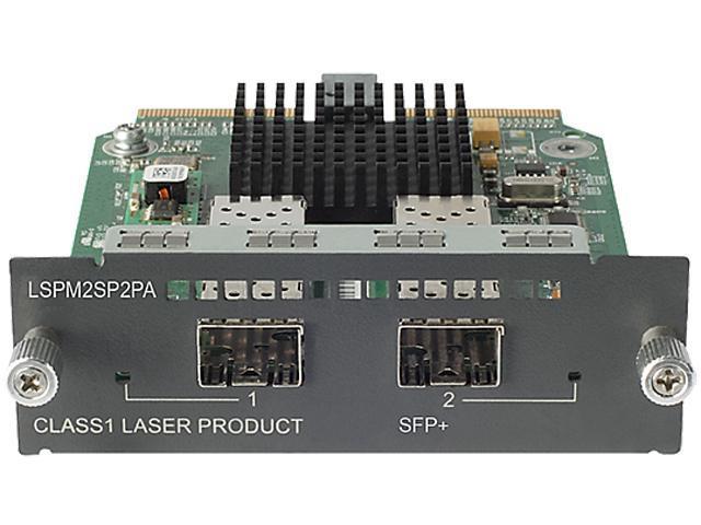 HP JD368B 2p 10-GbE SFP+ A5500/E4800/E4500 Module