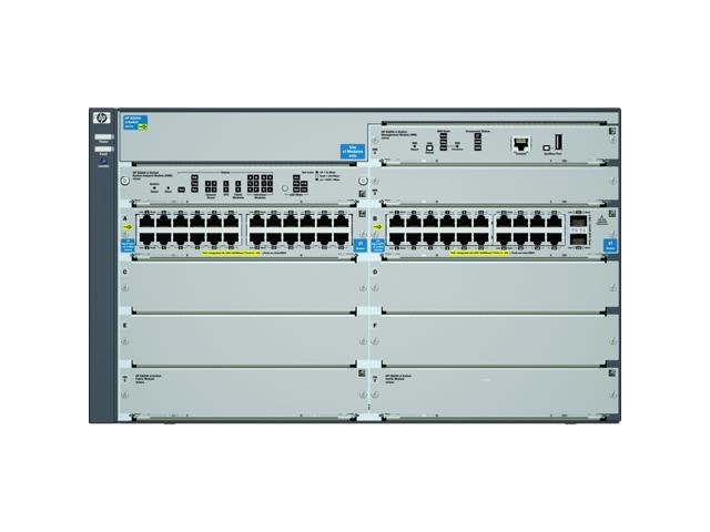 HP J9638A#ABA 8206-44G-PoE+-2XG v2 zl Switch with Premium Software