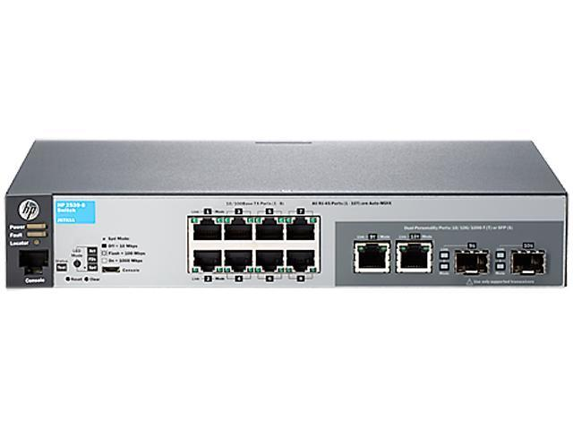 HP 2530 2530-8 Managed Switch