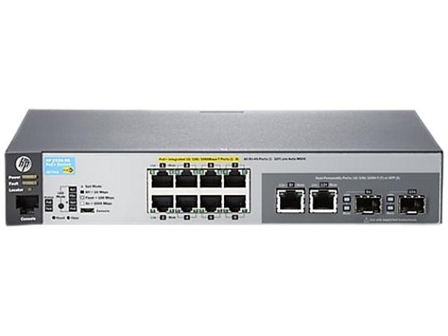 HP 2530 2530-8G-PoE+ Managed Switch