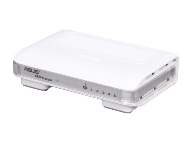 ASUS GX1005B Unmanaged Desktop Unmanaged Switch for Home/SOHO
