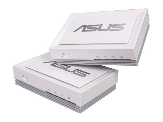 ASUS PL-X32 HomePlug AV Adapter Kit Up to 200Mbps
