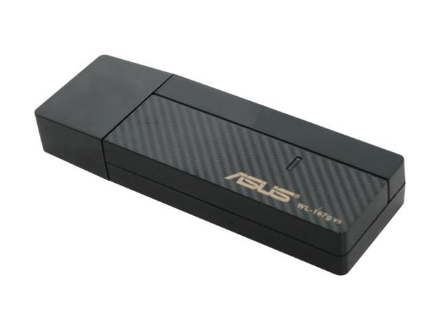 ASUS WL-167G_V3 USB 2.0 IEEE 802.11n (draft) - Wi-Fi Adapter