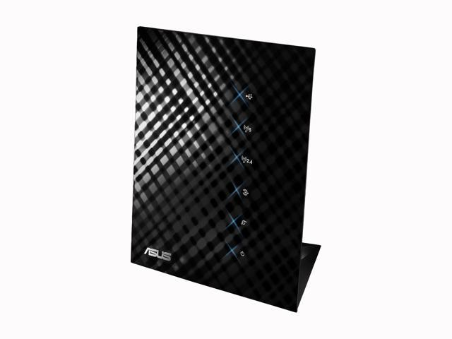 ASUS RT-N56U Wireless Router Dual Band N600 Multimedia Ultra Slim Gigabit 802.11a/b/g/n support USB Storage, Print and Media Server