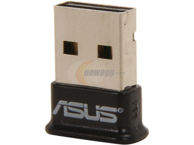 ASUS USB-BT211 BLACK USB 2.0 (type A) Mini Bluetooth Dongle - Black Manufacturer Recertified