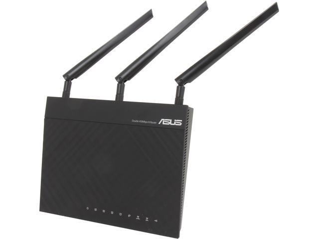 ASUS RT-N66R Dual-Band Wireless-N900 Gigabit Router, DD-WRT Open Source support -Asus Certified