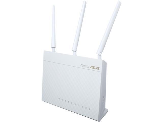 ASUS RT-AC68W Dual-Band Wireless-AC1900 Gigabit Router