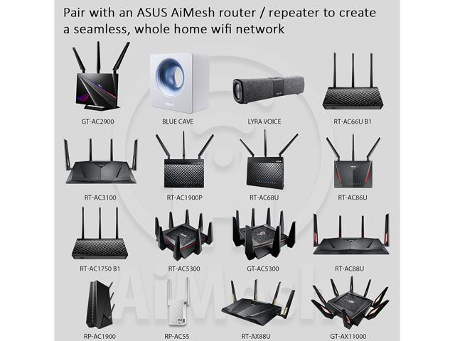 ASUS RT-AX88U AX6000 Dual Band 802 11ax WiFi Router Sw/MU-MIMO and