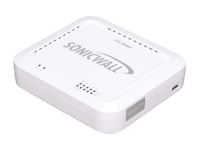 SONICWALL 01-SSC-8741 VPN TZ 200 Appliance (Hardware only)