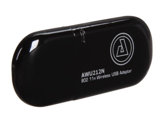 AZiO AWU212N USB 2.0 Wireless Adapter 1T2R