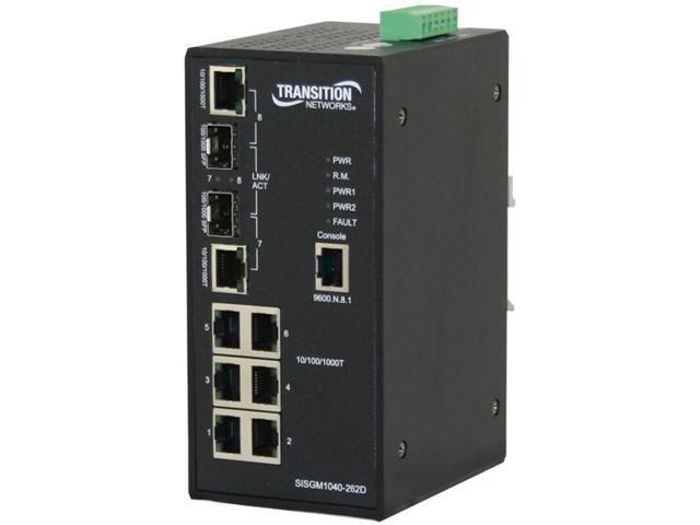 Transition Networks SISGM1040-262D-LR Ethernet Switch