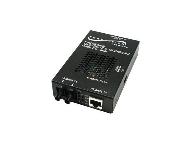 TRANSITION E-100BTX-FX-05(SM) Transceiver