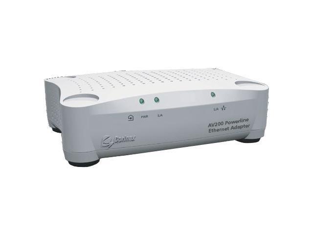 Corinex CXP-AV200-ETH Powerline Ethernet Adapter Up to 200Mbps