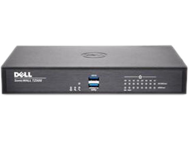 Dell SonicWALL 01-SSC-0429 VPN Wired TZ500 Gen 6 Firewall Secure Upgrade Plus 3 Year