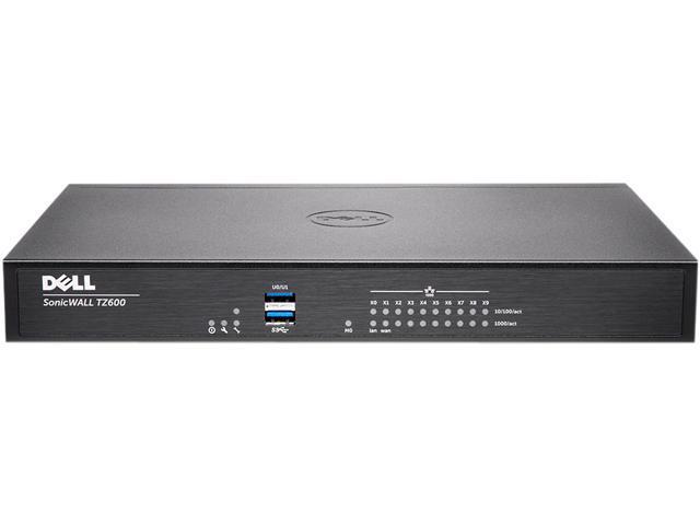 Dell SonicWALL 01-SSC-0223 VPN Wired TZ600 Gen 6 Firewall Secure Upgrade Plus 3 Year