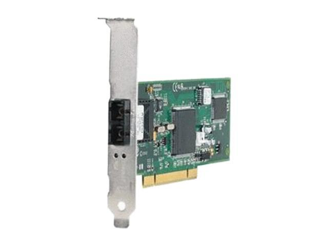 Allied Telesis AT-2701FX/SC-901 100Mbps PCI Dual Port Fiber Network Interface Card