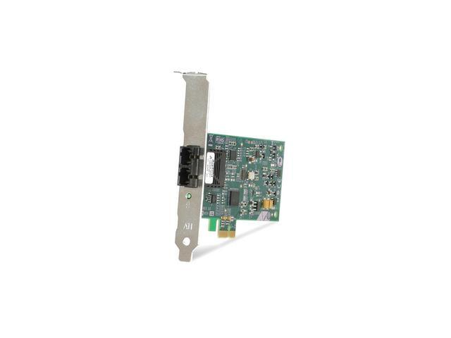Allied Telesis AT-2711FX/MT-901 100Mbps PCI-Express Fiber Network Interface Card