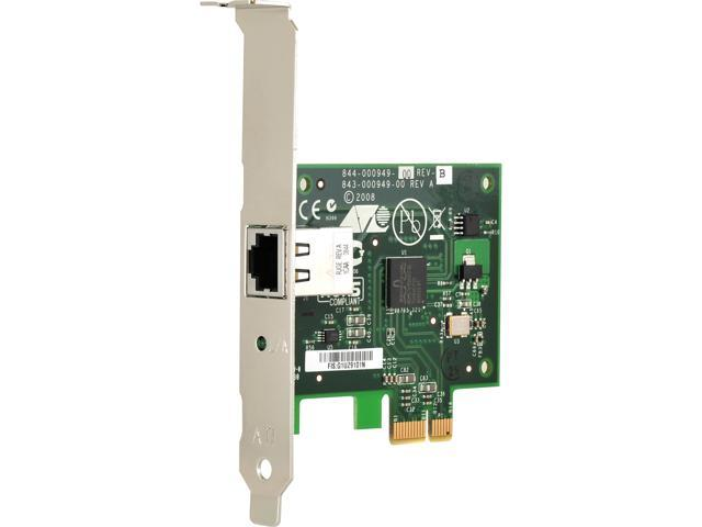 Allied Telesis AT-2912T-901 10/ 100/ 1000Mbps PCI-Express Gigabit Ethernet Card