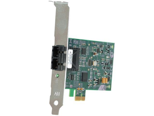 Allied Telesis Fast Ethernet Fiber Network Interface Card with PCI-Express