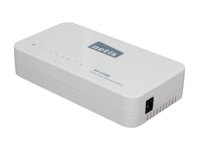 NETIS ST-3108 8-Port Fast Ethernet Switch