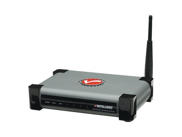 Intellinet 524445 Wireless 150N 4-Port Router