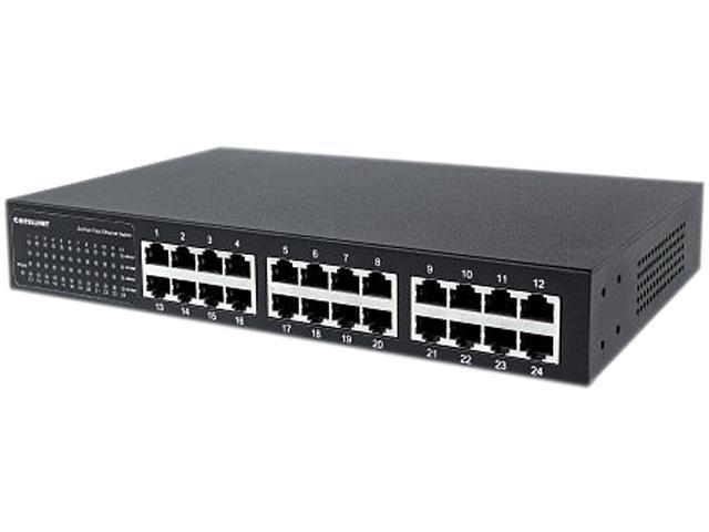 Intellinet 560924 24 Port 10 100 Desktop Switch