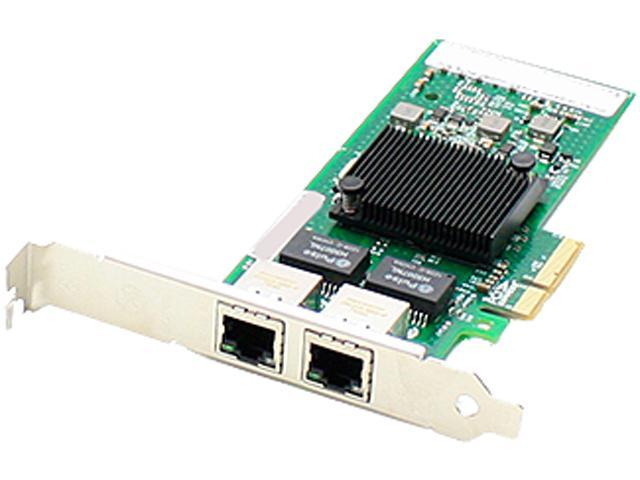 AddOn IBM 90Y9370 Comparable 10/100/1000Mbs Dual Open RJ-45 Port 100m PCIe x4 Network Interface Card