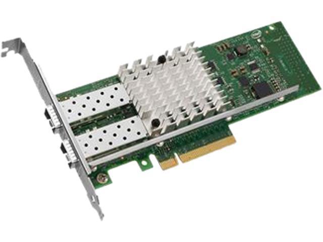 AddOn - Network adapter - PCI Express x8 - 10 Gigabit SFP+ x 2 - for Dell PowerEdge C6220, R320, R420, R520, R620, R720