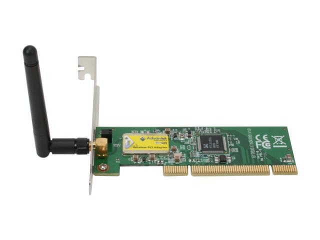 Good Advantek AWN PCI 54R PCI V2.2 Compliant Interface Wireless Adapter