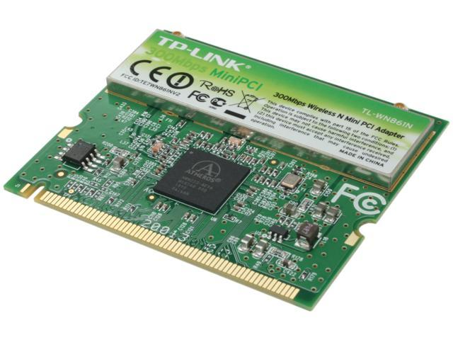 TP-LINK TL-WN861N 32-bit Mini PCI Wireless Adapter