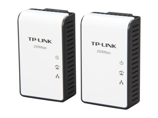 TP-LINK TL-PA211KIT AV 200Mbps Mini Multi-Streaming Powerline Adapter Starter Kit