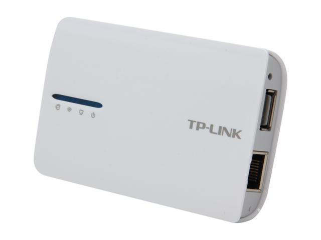 TP-LINK TL-MR3040 3G/4G Wireless N150 Portable Router, Internal Battery, Pocket Design, Multifunction, 150Mbps