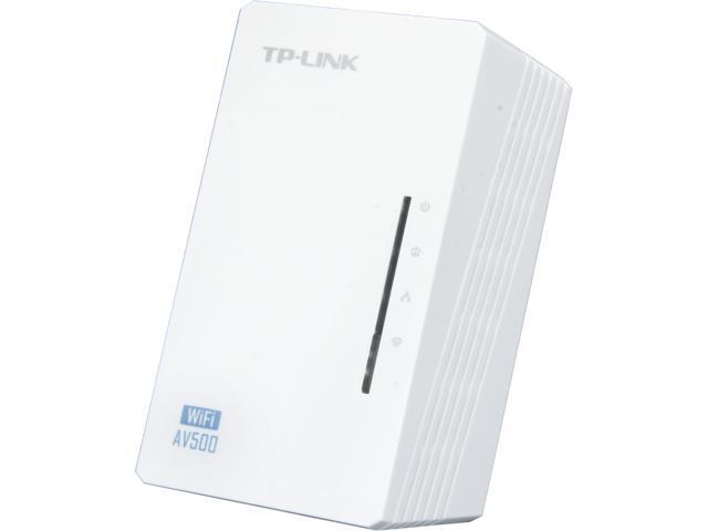 TP-LINK TL-WPA4220 N300 AV500 Wi-Fi Powerline Add-On Extender