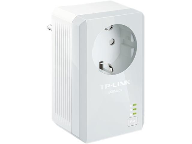 TP-Link TL-PA4010P KIT AV500 Powerline Starter Kit with AC Pass Through