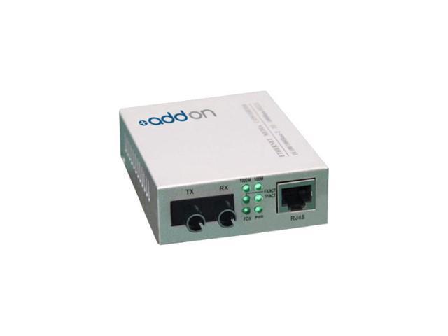 AddOn - Network Upgrades Media Converter 1000BTX-1000BSX 10/100/1000B-T 850NM MMF ST 550m
