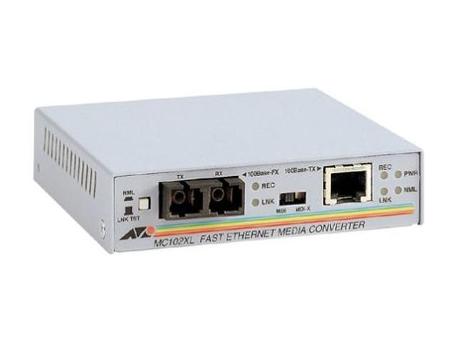Allied Telesis AT-MC102XL-90 Fast Ethernet Media Converter